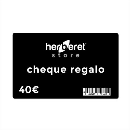 CHEQUE REGALO 40€